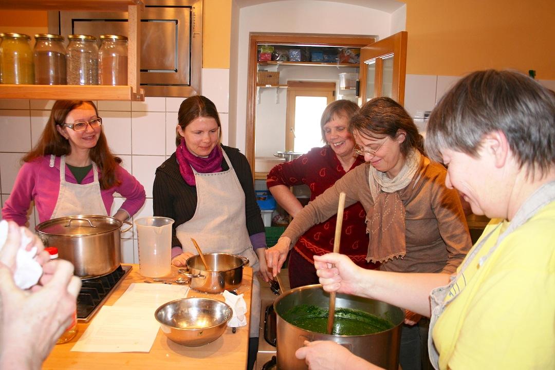 Vegetarian cooking classes